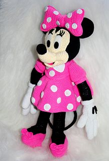 crochet minnie mouse doll - Google Search