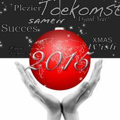 Kerst wereld rood 2015 - Kerstkaarten - Kaartje2go