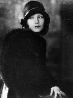 Ladyfairy's closet: Fashion icon of month: Greta Garbo  #Bochic #jewelry inspiration  www.bochic.com