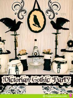 victorian decorations party - Google Search Ayanna Worsham
