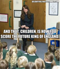 a-royal-love-affair:    LOL. Why you had to go there?! I hope we get to hear what she said for realz.