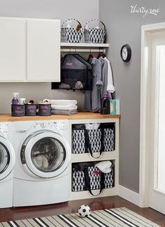 Thirty-One Laundry Room - Hang-It Up Pocket, Creative Caddy, Deluxe Utility Tote, Oh-Snap Bins