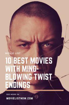 10 Best Movies With Mind-Blowing Twist Endings. list 10 Best Movies With Mind-Blowing Twist Endings Great Movies To Watch, Movie To Watch List, Movie List, Best Movies List, Films Netflix, Netflix Movies To Watch, Mind Blowing Movies, Psychological Thriller Movies, Bon Film