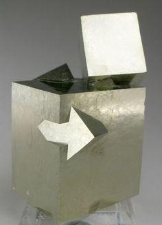 Pyrite - Navajun, La Rioja, Spain Size: 6.2 x 4.8 x 4.6 cm