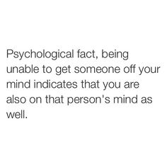But... 1 of them doesn't know me, and the other one is just on my mind cause I'm thinking of how to get him to go away!