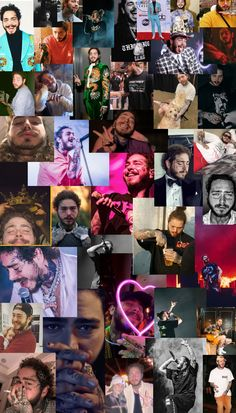 Post Malone Album, Post Malone Wallpaper, Hypebeast Wallpaper, Cute Patterns Wallpaper, Famous Men, Aesthetic Collage, Favorite Person, Vampire Diaries, Future Husband