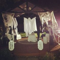 Haunted Gazebo for Halloween