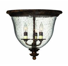 View the Hinkley Lighting H3712 Traditional / Classic Flushmount Ceiling Fixture from the Rockford Collection at Build.com.
