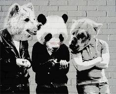 Wild Animals. street art 000