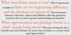 The themes of author Sita Brahmachari's upcoming blog posts as Writer in Residence for Booktrust