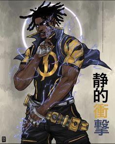 Black Cartoon Characters, Fantasy Characters, Dc Characters, Dope Cartoon Art, Dope Cartoons, Fantasy Character Design, Character Art, Comic Books Art, Comic Art