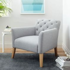 West Elm offers modern furniture and home decor featuring inspiring designs and colors. Create a stylish space with home accessories from West Elm. Furniture, West Elm Living Room, Accent Chairs For Living Room, Blue Chairs Living Room, Living Room Chairs, Living Room Chairs Modern, Luxury Chairs, Living Room Grey, Comfy Accent Chairs