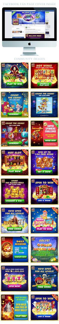 Slots Craze Facebook Page Images on Behance