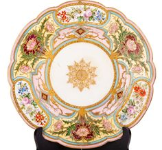 Sèvres plate   .....................................Please save this pin.   ............................................................. Click on this link!.. http://www.ebay.com/usr/prestige_online
