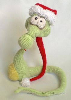 Snake crochet Pattern by Galina Astashova