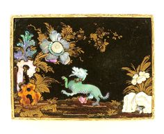Base of snuffbox with Chinoiserie decoration, c. 1745, probably France, museum no. Loan:Gilbert.1039-2008 | The Rosalinde and Arthur Gilbert Collection on loan to the Victoria and Albert Museum, London