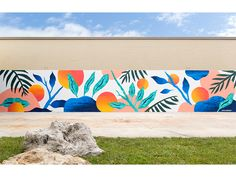 Elizabeth Ave Station Mural! by Melissa Deckert