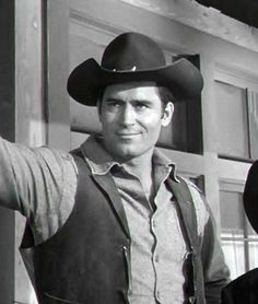 """Clint in a scene from the TV show """"Cheyenne."""""""