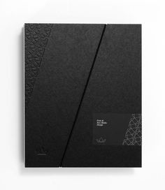 Creative Print Design Inspiration. The company profile for the Kalimera portfolio is made of hard cover paper and it contains folders and a hard paper case