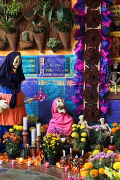 Altar Día de las Ánimas, Pátzcuaro, Michoacán, México