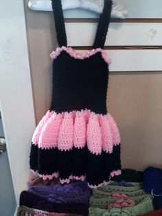 GIRL'S CROCHETED DRESS!!!!!!!!!!