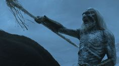 """The cold winds are rising."" Beware of White Walkers beyond The Wall. #gameofthrones #whitewalkers"