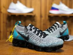new arrival 58613 cce10 Newest Original Nike Air Vapormax Fashionable Mens Sneakers Gray Black Blue.