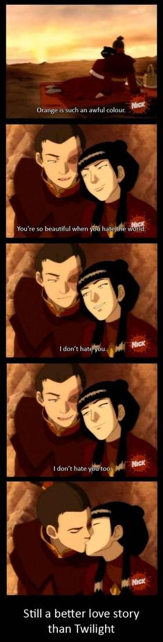 Zuko & Mai... a better love story than Twilight