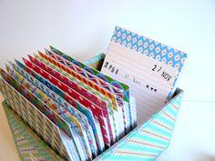 hilde @ home: DIY: a lifetime calendar