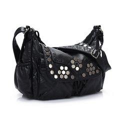 2017 New Summer Crossbody Handbag Shoulder Bag Leather Casual Diagonal Washing Luxury Handbags Women Bags Designer Women