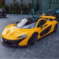"""Yellow P1 : @cars_in_zurich | @jakem3vert | @fastnexotic | @fastlane.photography | #mclaren#p1#speedfanatics"""