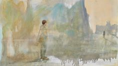 I was waiting, oil on canvas, 40 x 70cm, May 2014