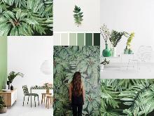 Trend Alert Botanical Craze Mood Boards, Web Design, Plants, Home Decor, Design Web, Decoration Home, Room Decor, Plant, Home Interior Design