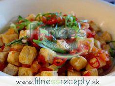 Zdravé fitness recepty - Tofu so zeleninou