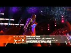 Jermaine Paul sings Complicated by Avril Lavigne. The Voice U.S. Blind Audition, season 2, 2012.  He won this season.