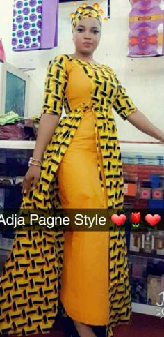 African Dresses For Kids, Latest African Fashion Dresses, African Dresses For Women, African Print Dresses, African Print Fashion, Africa Fashion, African Attire, Ethnic Fashion, Hijab Fashion