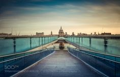 Millennium Bridge by thalerst City and Architecture Photography #InfluentialLime