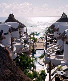 Be Playa, Playa del Carmen, Mexico  beplaya.com    Travel+Leisure Best Affordable Beach Resorts