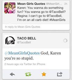 HAHAHA. #meangirls