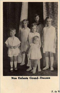 the children of Grand Duchess Charlotte