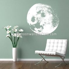 Moon wall sticker - Moon Wall Stickers