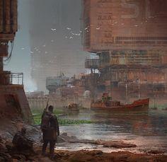 Rust Town by Alex Ichim