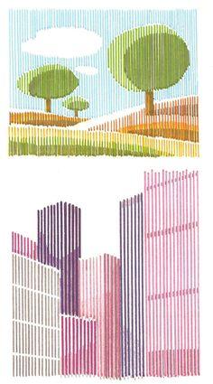 how t draw Line Design Pattern, Pattern Art, Line Art Design, Arte Sharpie, Line Art Projects, Art Curriculum, Pen Art, Elements Of Art, Art Plastique