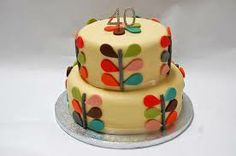 orla kiely cake - Google Search
