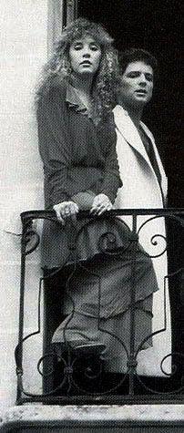 Stevie Nicks and Lindsey Buckingham, c 1979.