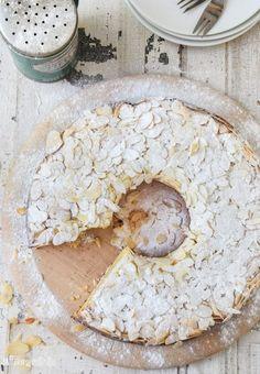 Bizcocho de almendra, ricotta y cítricos {sin gluten}