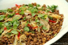 mmmm, lentils are amazing!