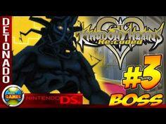 Kingdom Hearts: Re Codec Walkthrough #3 Boss NDS