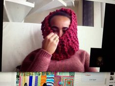 Cozy circle scarf