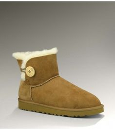 6b76f653805a2f UGGS Sale Outlet 3352 Chestnut Mini Bailey Button Boots  http   www.snowbootsoutletsales. Classic Ugg ...